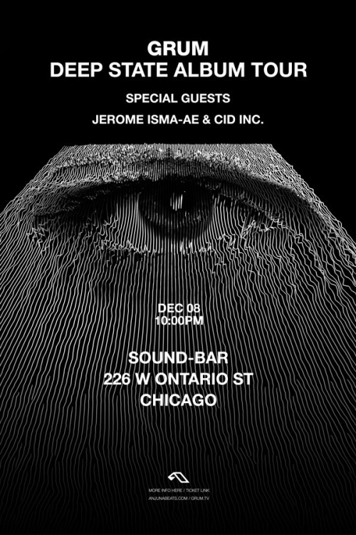 GRUM w/ special guest Jerome Isma-Ae and CID Inc - Sound-Bar