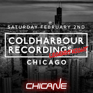Coldharbour Recordings Legends Night: Chicane and 4Strings, Saturday, February 2nd, 2019