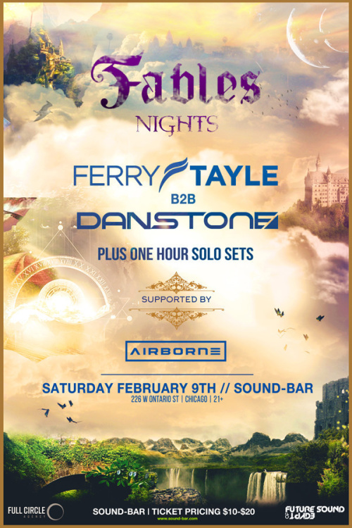Fables Nights: Ferry Tayle b2b Dan Stone - Sound-Bar