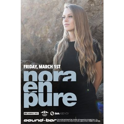 Nora En Pure, Friday, March 1st, 2019
