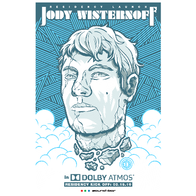 Jody Wisternoff in Dolby ATMOS (3 Hour Residency Kickoff), Saturday, March 16th, 2019