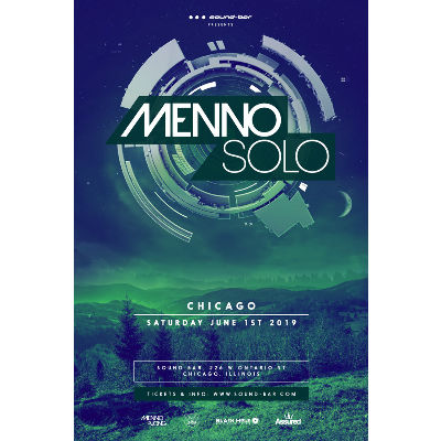 Menno Solo, Saturday, June 1st, 2019