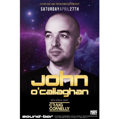John O'Callaghan w/ Craig Connelly, Saturday, April 27th, 2019