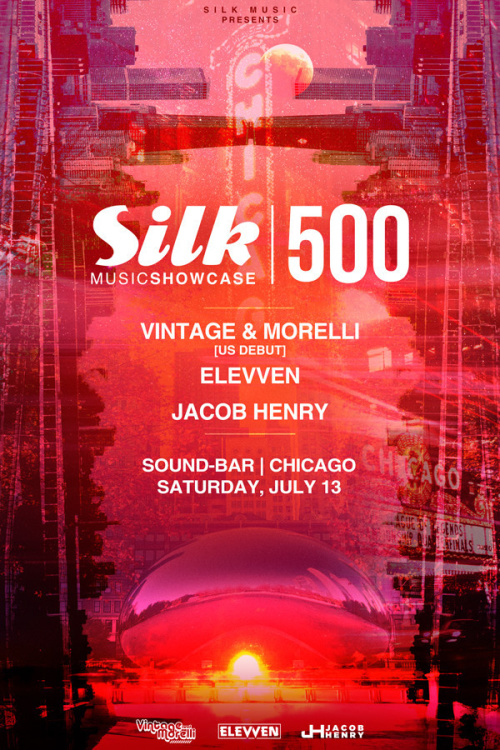 Silk Music Showcase 500 w/ Vintage & Morelli, Jacob Henry, and Elevven - Sound-Bar