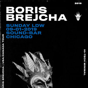 Boris Brejcha, Sunday, September 1st, 2019