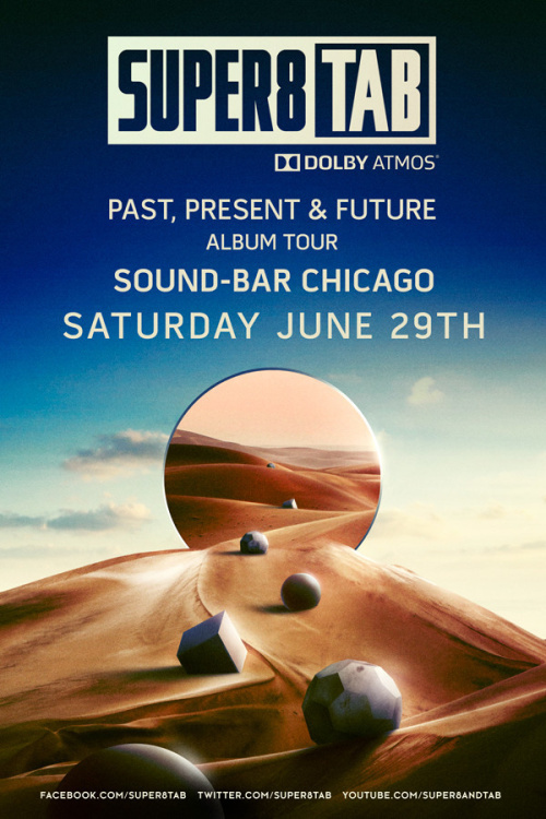 Super8 & Tab Past Present & Future in Dolby ATMOS - Sound-Bar