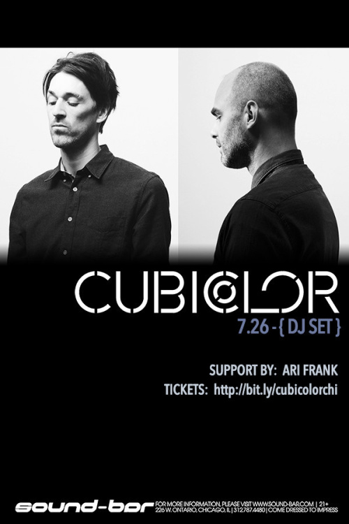 Cubicolor (DJ Set) - Sound-Bar