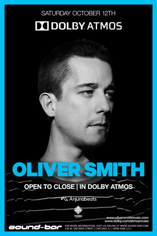 Oliver Smith (Open to Close | In Dolby ATMOS) - Sound-Bar