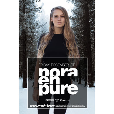 Nora En Pure, Friday, December 13th, 2019