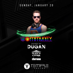 COmmUNITY Presented by Temple Nightclub