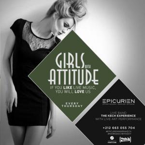 Girls W/ Attitude - The Ladies Night