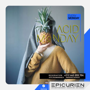 Acid Monday, Monday, November 12th, 2018