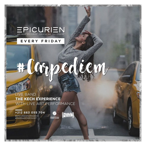 #Carpediem - L'Epicurien