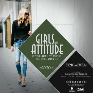 Girls W/Attitude - The Ladies Night, Thursday, September 27th, 2018