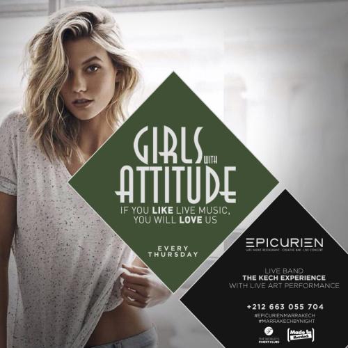 Girls W/Attitude - The Ladies Night - L'Epicurien