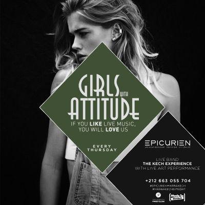 Girls W/Attitude - The Ladies Night, Thursday, October 25th, 2018