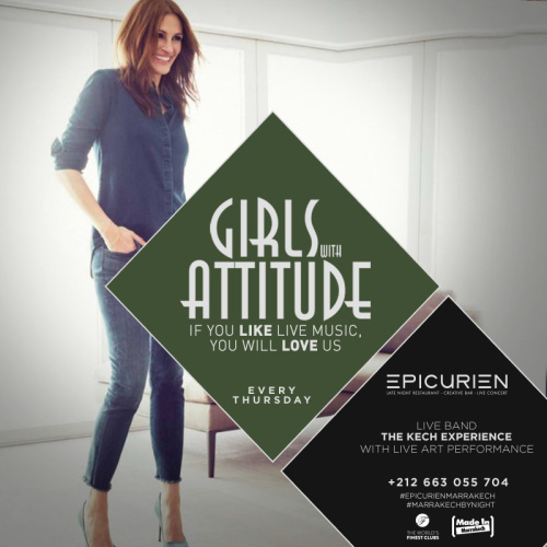 Girls W/Attitude - The Ladies Night - L'Epicurien