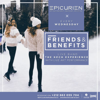 Friends X Benefits, Wednesday, September 26th, 2018