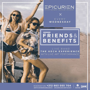 Friends X Benefits, Wednesday, October 3rd, 2018