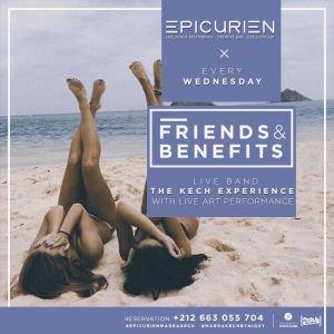 Friends X Benefits, Wednesday, October 10th, 2018