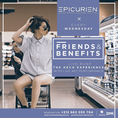 Friends X Benefits, Wednesday, October 24th, 2018