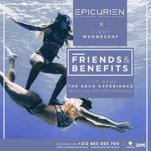 Friends X Benefits, Wednesday, October 17th, 2018