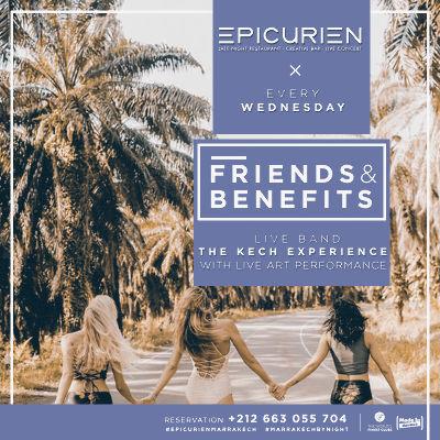 Friends X Benefits, Wednesday, October 31st, 2018