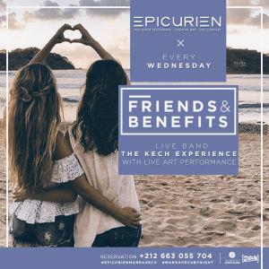 Friends X Benefits, Wednesday, November 7th, 2018