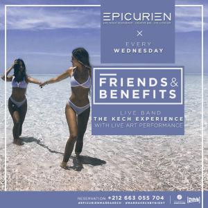 Friends X Benefits, Wednesday, November 14th, 2018