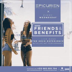 Friends X Benefits, Wednesday, November 21st, 2018