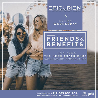 Friends X Benefits, Wednesday, January 2nd, 2019