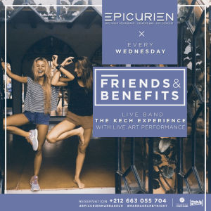 Friends X Benefits, Wednesday, January 9th, 2019