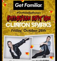 Clinton Sparks #GetFamiliarFridays Halloween