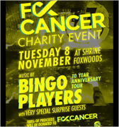 F*CK CANCER with BINGO PLAYERS