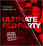 Ultimate Red Party with KIRILL WAS HERE