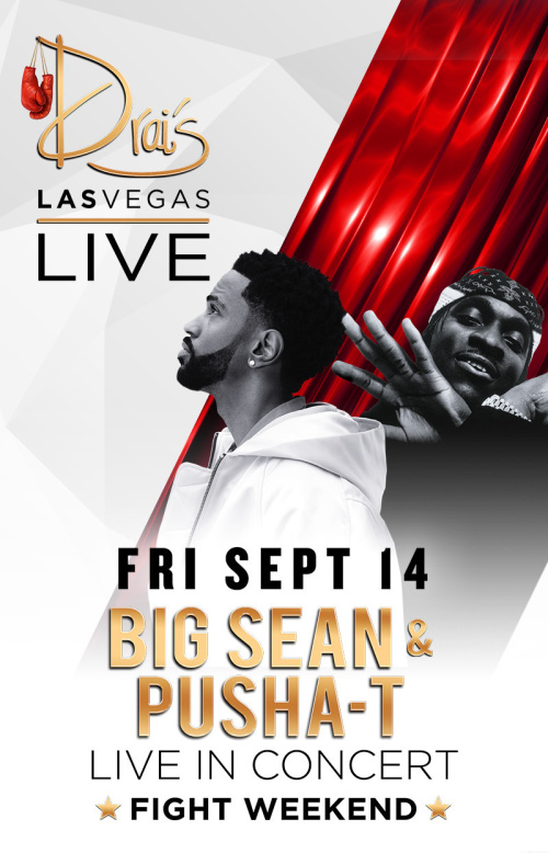 Big Sean and Pusha-T - Drai's Nightclub