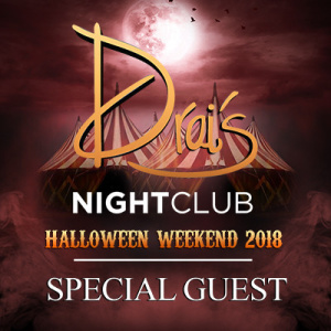 Special Guest, Saturday, October 27th, 2018