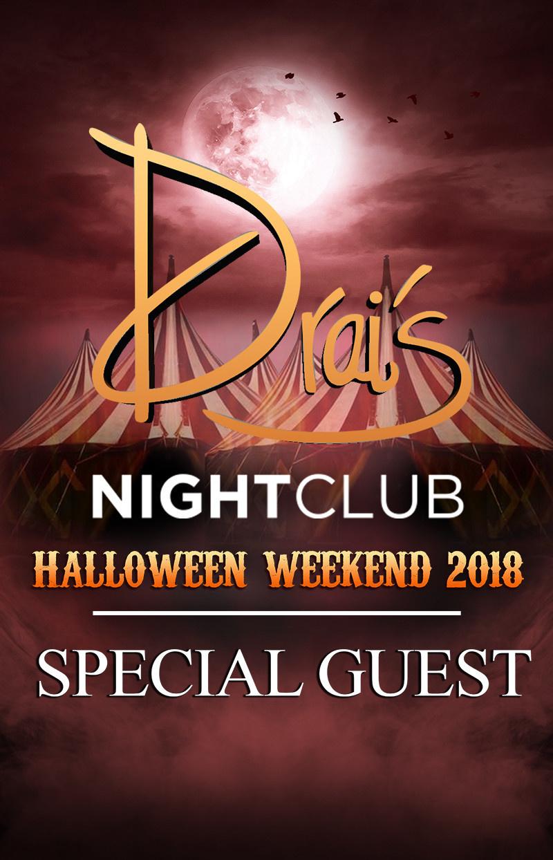 drais nightclub halloween 2018 las vegas