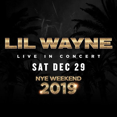 Lil Wayne, Saturday, December 29th, 2018