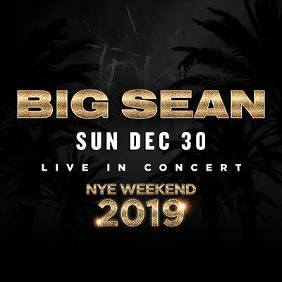 Big Sean, Sunday, December 30th, 2018