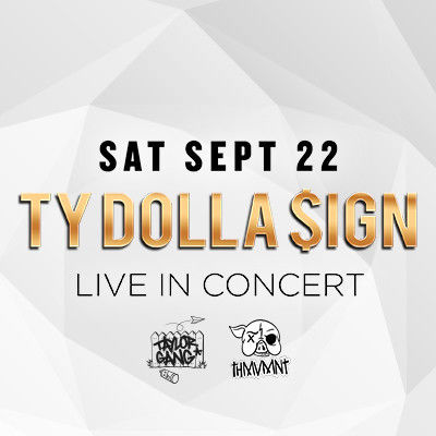 Ty Dolla $ign, Saturday, September 22nd, 2018