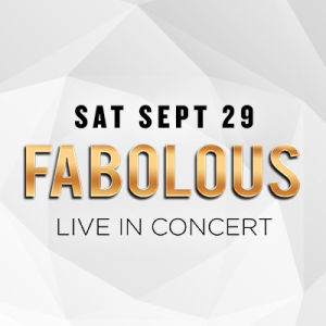 Fabolous, Saturday, September 29th, 2018