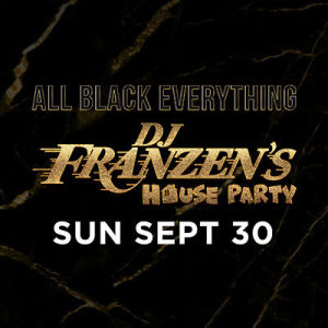 SunDrais w/ DJ Franzen, Sunday, September 30th, 2018