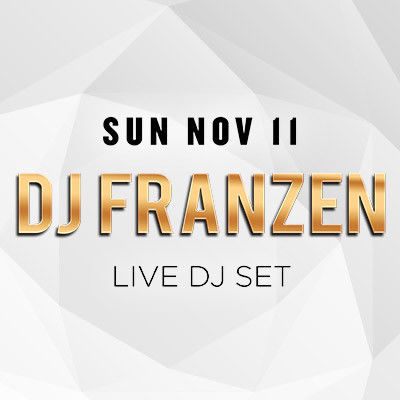 Sundrais w/ DJ Franzen, Sunday, November 11th, 2018