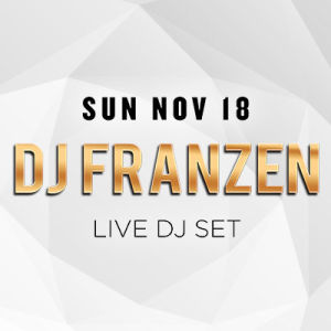 Sundrais w/ DJ Franzen, Sunday, November 18th, 2018