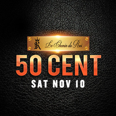 50 Cent, Saturday, November 10th, 2018
