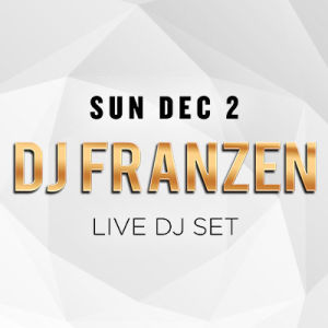 Sundrais w/ DJ Franzen, Sunday, December 2nd, 2018