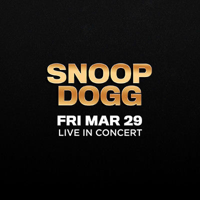 Snoop Dogg, Friday, March 29th, 2019