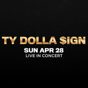 Ty Dolla $ign, Sunday, April 28th, 2019