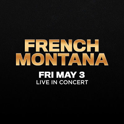 French Montana, Friday, May 3rd, 2019